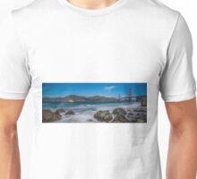 Golden Gate from Marshall's Beach Unisex T-Shirt