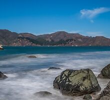 Golden Gate from Marshall's Beach by William Vaux