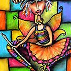 Minstral Fairy Prints &amp; Cards by Karin  Taylor