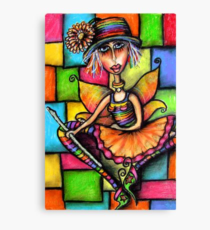 Minstral Fairy Prints & Cards Canvas Print