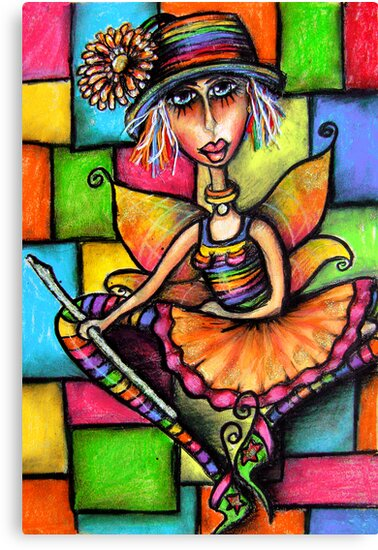 Minstral Fairy Prints & Cards by © Karin Taylor