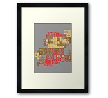 Console Mario  Framed Print