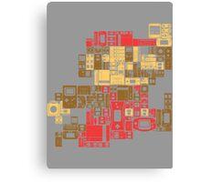 Console Mario  Canvas Print