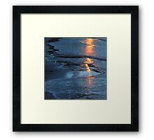 Reflections xxi - digital photography Framed Print