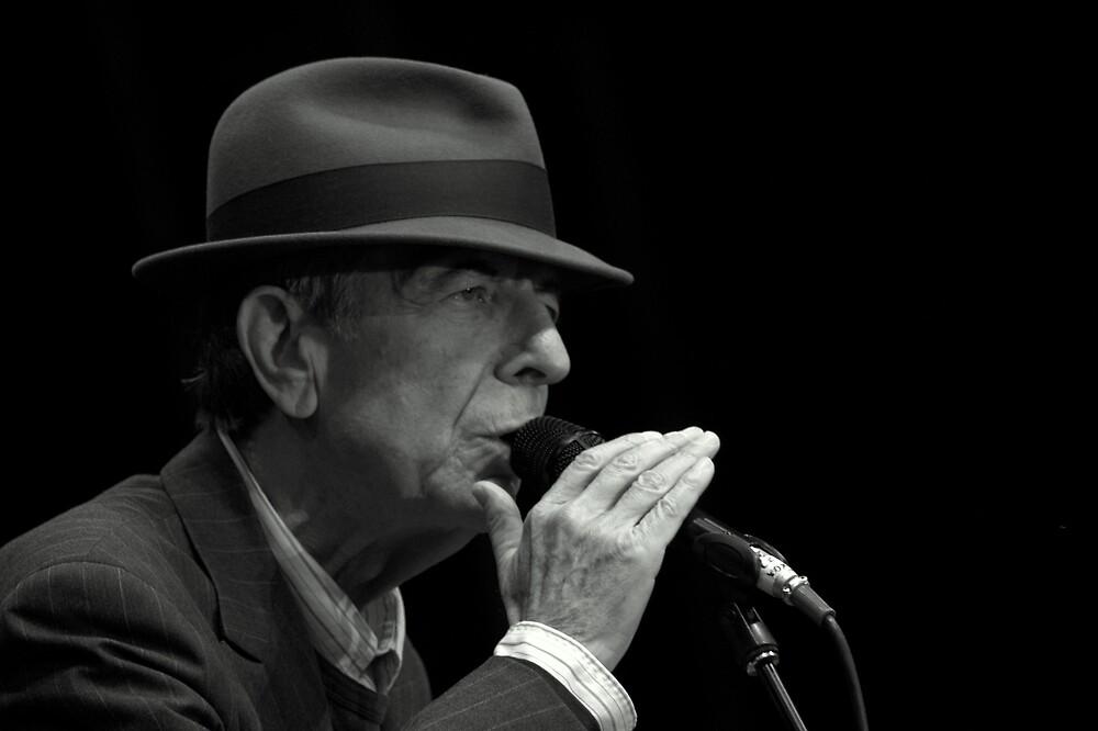 Leonard Cohen plays live by Steiner62