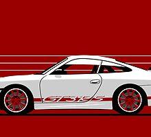 Porsche 911 (996) GT3 RS by car2oonz