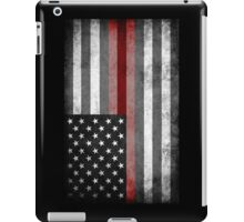 The Thin Red Line - American Firefighter iPad Case/Skin