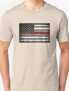 The Thin Red Line - American Firefighter T-Shirt