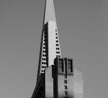 The TransAmerica Pyramid, San Francisco by Nicholas  Overgaard