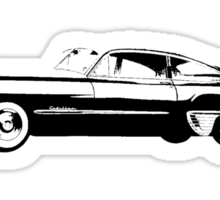 1949 Cadillac Coupe Sticker