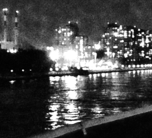 NYC Skyline East River Sticker