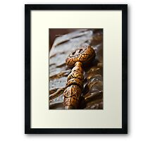 Sword (Edinburgh Castle, Scotland) Framed Print