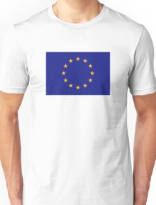 Europe EU flag Unisex T-Shirt