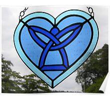 Celtic Angel Heart Poster