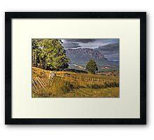 Mt Roland: Tasmania Framed Print