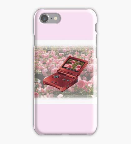 Rose Gameboy iPhone Case/Skin