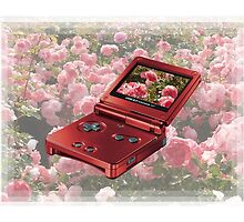 Rose Gameboy by ラブ  LOV E