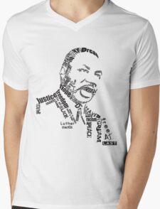 Dr. King Mens V-Neck T-Shirt
