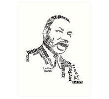 Dr. King Art Print