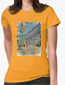 Long Road Goodbye (South Street Seaport) Womens Fitted T-Shirt