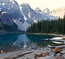 Lake Moraine – Banff National Park, Alberta, Canada by Yannik Hay
