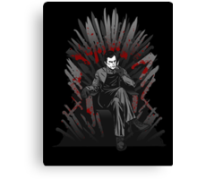 Game of Kills Canvas Print