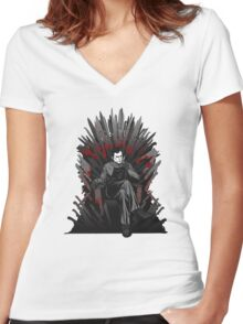 Game of Kills Women's Fitted V-Neck T-Shirt