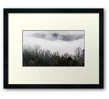 Beautiful Smoke 4 Framed Print