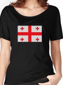 Georgia flag Women's Relaxed Fit T-Shirt