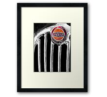 Classic grill Framed Print