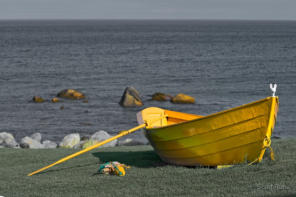 The Yellow Dory  by Scott Ruhs
