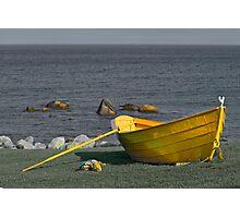 The Yellow Dory  Photographic Print