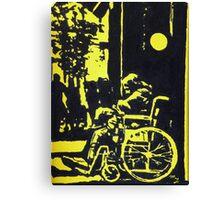 Panhandler Canvas Print