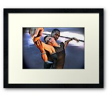 The Down: 8 of 9 Framed Print