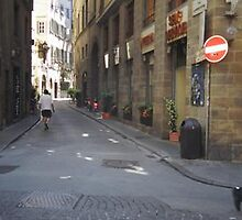 alley way~Florence by horizoncarrie