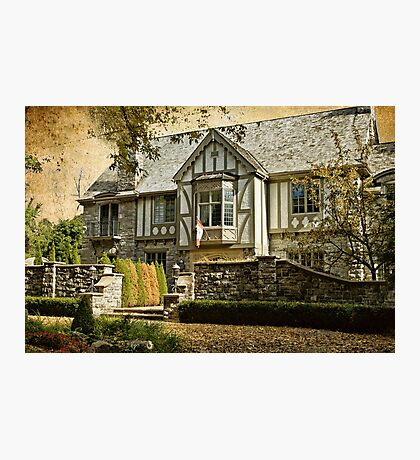 Mock Tudor Style Home Photographic Print