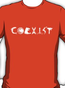 Coexist- Game of Thrones shirt T-Shirt