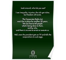 Continuum - Kellogg quote Poster