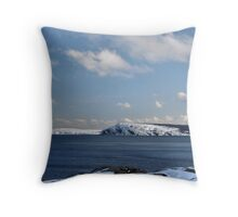 Cape Spear from Cuckold's Cove Throw Pillow