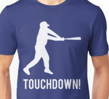 Baseball Touchdown Unisex T-Shirt