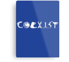 Coexist- Game of Thrones shirt Metal Print