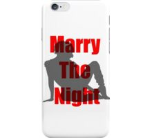 Marry the Night Silhouette iPhone Case/Skin
