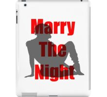 Marry the Night Silhouette iPad Case/Skin