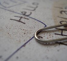 Paper clip by Becky Blatch