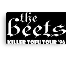 The Beets Funny Geek Nerd Canvas Print