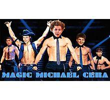 Magic Michael Cera Photographic Print