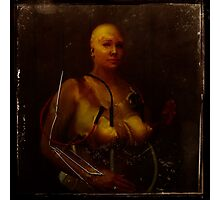 The perfect woman; test subject #1 Photographic Print