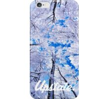 Upstate Supply Co- Snow Trees Case iPhone Case/Skin
