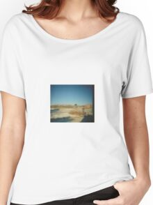 Pinhole view looking west from the LRS Women's Relaxed Fit T-Shirt
