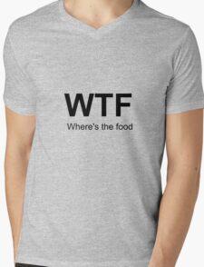 Where's the food Mens V-Neck T-Shirt